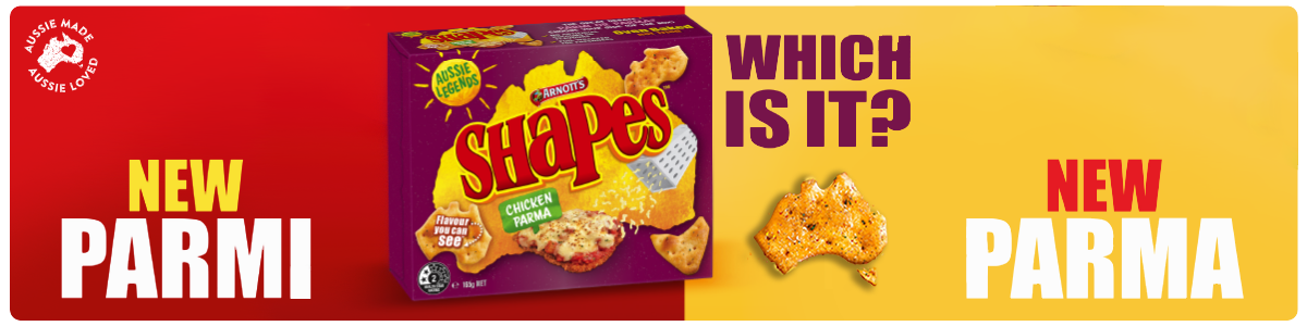 Arnott's Shapes Chicken Parma