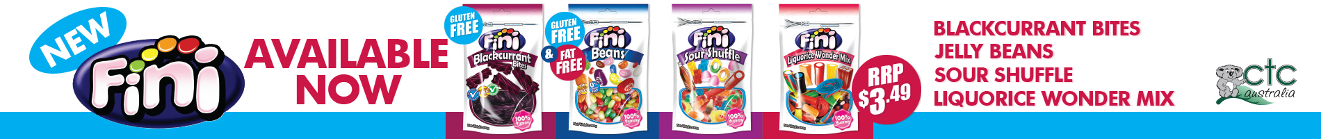 Fini Products Now Available!